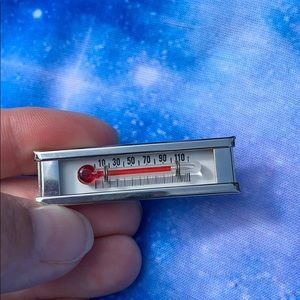 Vintage Real Thermometer Tie Clip